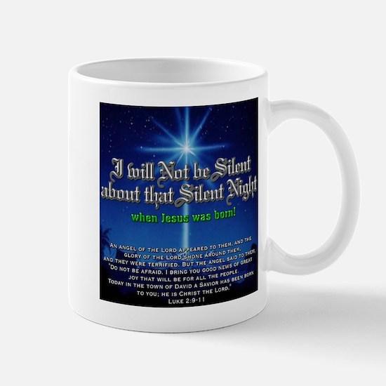 NOT b Silent about Silent Nig Mug