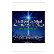 NOT b Silent about Silent Nig Postcards (Package o