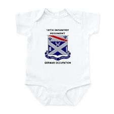 18TH INFANTRY REGIMENT-GERMAN OCCUPATION Infant Cr