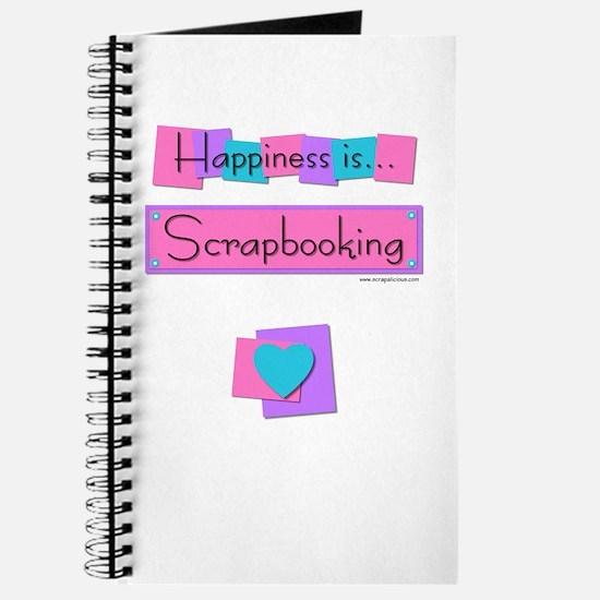 Happiness is... Scrapbooking Journal