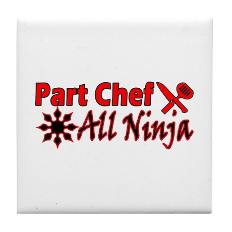 Part Chef All Ninja Tile Coaster
