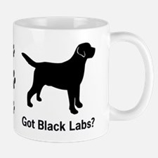 Got Black Labs II Mug