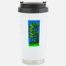 Abstract Trees Stainless Steel Travel Mug