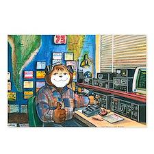 Ham Radio (Male) Postcards (Package of 8)