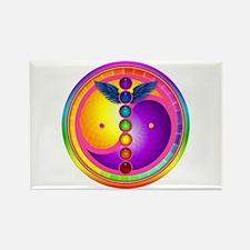 Chakra Mandala Rectangle Magnet (100 pack)