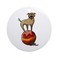 Tripawds Have A Ball Ornament (Round)