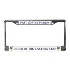 OES Past Patron License Plate Frame