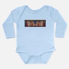A Modern Cinderella Long Sleeve Infant Bodysuit