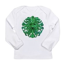 Green Man Gaze Long Sleeve Infant T-Shirt