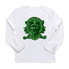 Green Man: Metamorphosis Long Sleeve Infant T-Shir