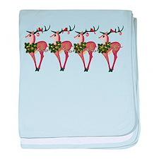 Deer Cheer baby blanket