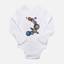 Planet Swirl Long Sleeve Infant Bodysuit