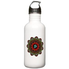 Om of Chaos Sports Water Bottle