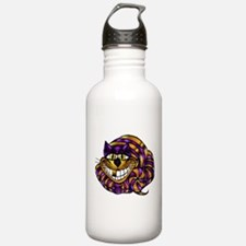 Golden Cheshire Cat Water Bottle