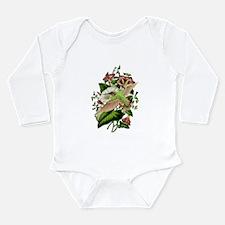 Morning Glory Long Sleeve Infant Bodysuit