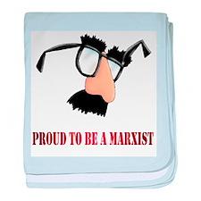 Marxist baby blanket