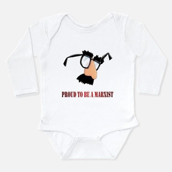 Marxist Long Sleeve Infant Bodysuit