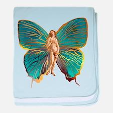 Venus Butterfly baby blanket