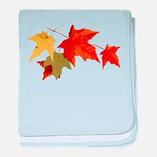 Autumn Colors baby blanket