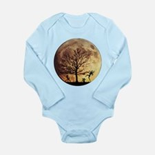 Moon Dance Long Sleeve Infant Bodysuit