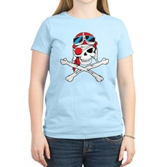 Pirate Skull/Skeleton Women's Light T-Shirt
