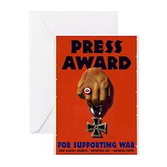 Press Award Greeting Cards (Pk of 10)