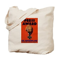 Press Award Tote Bag
