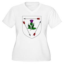 Magda's Women's Plus Size V-Neck T-Shirt