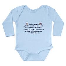 Bibliomania Long Sleeve Infant Bodysuit