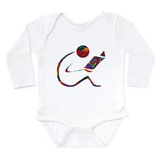 The Reader Long Sleeve Infant Bodysuit