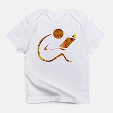 Reader - Golden - Sans Quote Infant T-Shirt