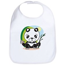 The Happy Panda Bib