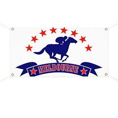melbourne horse race Banner