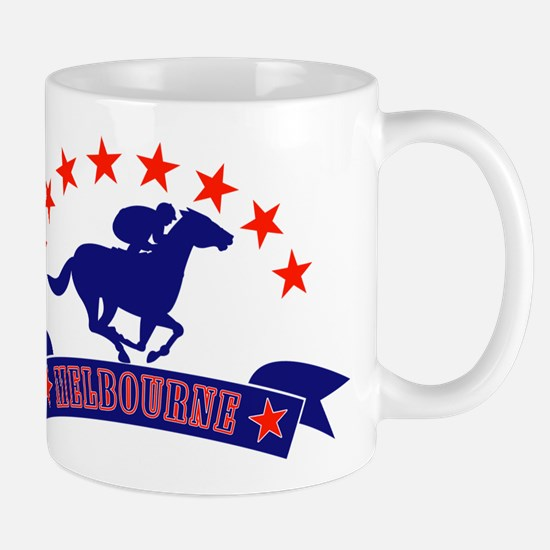 melbourne horse race Mug