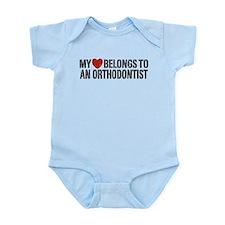 Orthodontist Infant Bodysuit