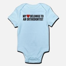 Orthodontist Infant Bodysuit