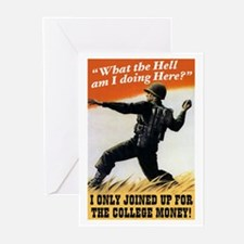 College Money Greeting Cards (10 Pk)