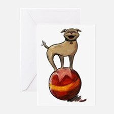 Tripawds Have A Ball Greeting Cards (Pk of 10)