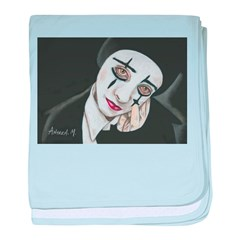 THE MIME baby blanket