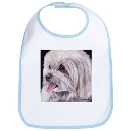 Maltese Terrier Dog Bib