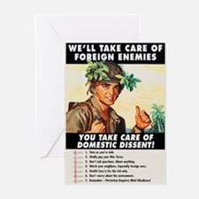 Domestic Dissent Greeting Cards (10 Pk)