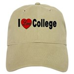I Love College Cap