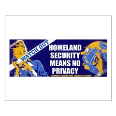 No Privacy Posters