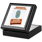 Fingerprint Everyone Keepsake Box