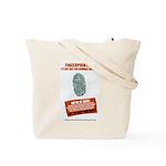 Fingerprint Everyone Tote Bag