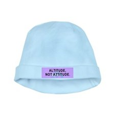 Altitude Not Attitude baby hat