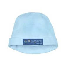 Blue Jeans Girl baby hat