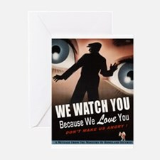 We Watch You Greeting Cards (10 Pk)