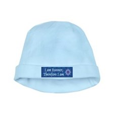 I Am Runner baby hat