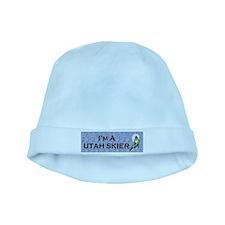 Utah Skier baby hat